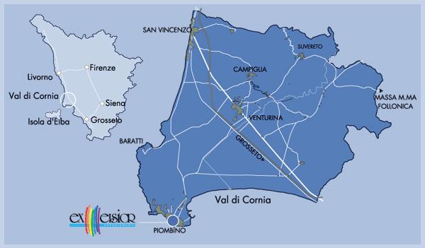 cartina geografica toscana piombino